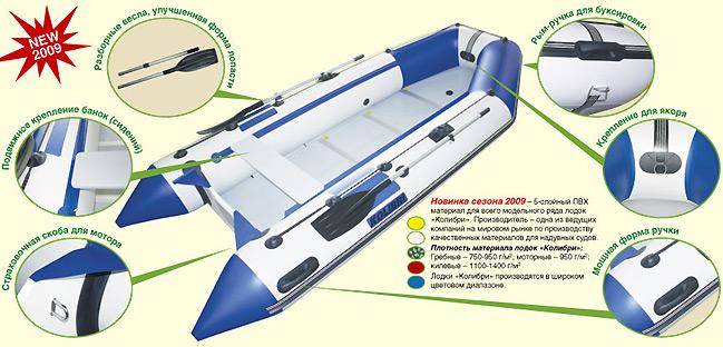 пвх лодка колибри купить на украине цена