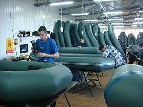 завод лодок колибри в днепре