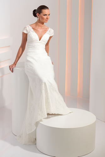 Коллекция: Свадебные платья Ампир (греческий стиль) 2012.