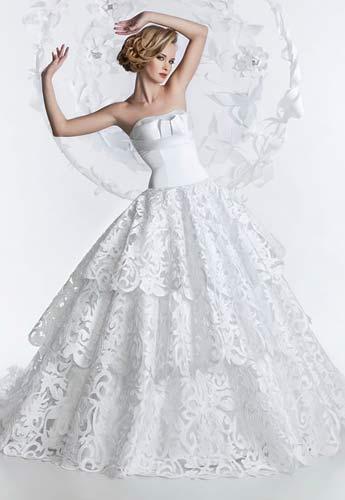 Платья коллекции Yolancris.  Выпускные платья 2012.  Журнал невесты.