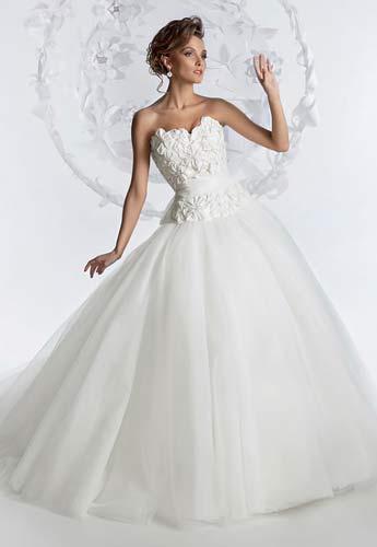 Меги - Свадебные и вечерние платья коллекции 2012 от сети салонов...