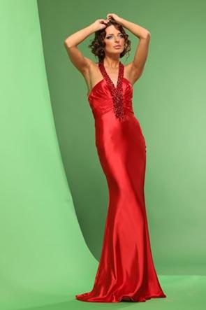 Длинные (макси) выпускные платья коллекции выпускных платьев 2012.