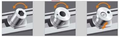 Фурнитура ROTO NT: - новый дизайн - матово-серебряный цвет - новая...