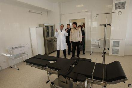В Днепропетровске открылся новый корпус детской клинической больницы (Фото)