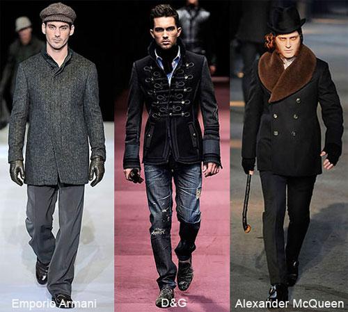Осеннее мужское пальто 2009.