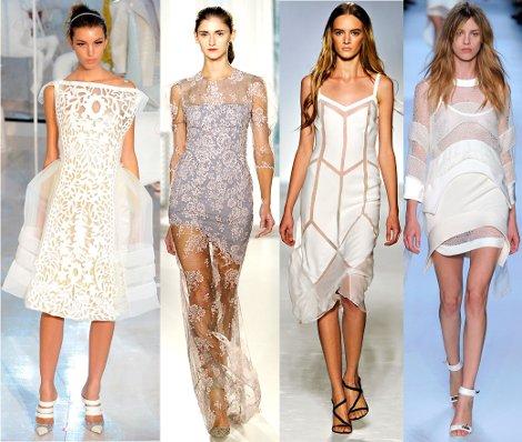 Летнее платье 2012.  Жаркие модные тенденции.