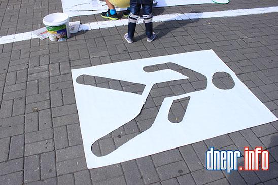 Велосипедисты Днепропетровска взялись сами делать велосипедные дорожки (ФОТО), фото-4