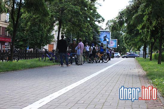 Велосипедисты Днепропетровска взялись сами делать велосипедные дорожки (ФОТО), фото-9