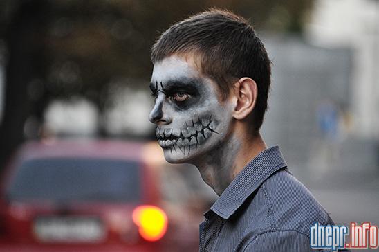 Флешмоб в Днепропетровске: как прошел зомби-парад (ФОТОРЕПОРТАЖ), фото-1