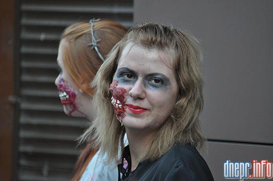 Флешмоб в Днепропетровске: как прошел зомби-парад (ФОТОРЕПОРТАЖ), фото-3