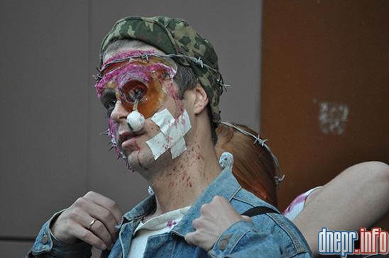 Флешмоб в Днепропетровске: как прошел зомби-парад (ФОТОРЕПОРТАЖ), фото-4