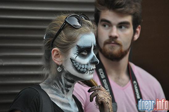 Флешмоб в Днепропетровске: как прошел зомби-парад (ФОТОРЕПОРТАЖ), фото-2