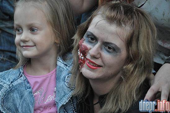Флешмоб в Днепропетровске: как прошел зомби-парад (ФОТОРЕПОРТАЖ), фото-6