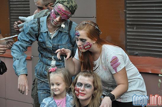 Флешмоб в Днепропетровске: как прошел зомби-парад (ФОТОРЕПОРТАЖ), фото-7