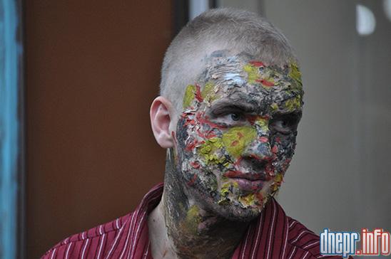 Флешмоб в Днепропетровске: как прошел зомби-парад (ФОТОРЕПОРТАЖ), фото-8