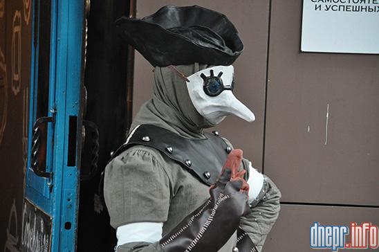 Флешмоб в Днепропетровске: как прошел зомби-парад (ФОТОРЕПОРТАЖ), фото-10
