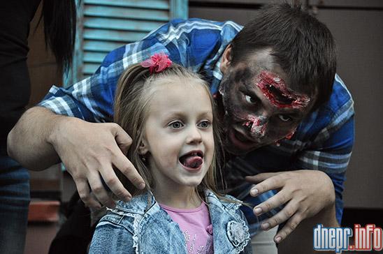 Флешмоб в Днепропетровске: как прошел зомби-парад (ФОТОРЕПОРТАЖ), фото-11