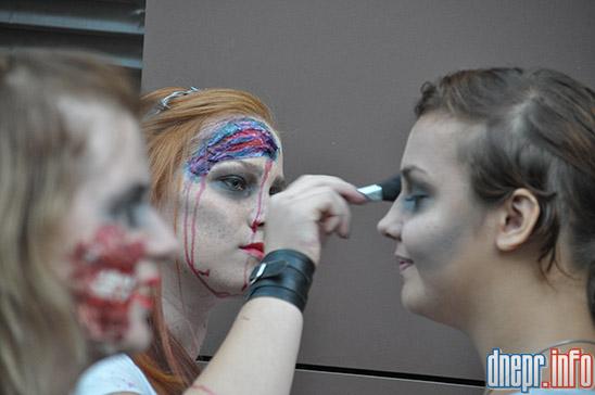 Флешмоб в Днепропетровске: как прошел зомби-парад (ФОТОРЕПОРТАЖ), фото-12