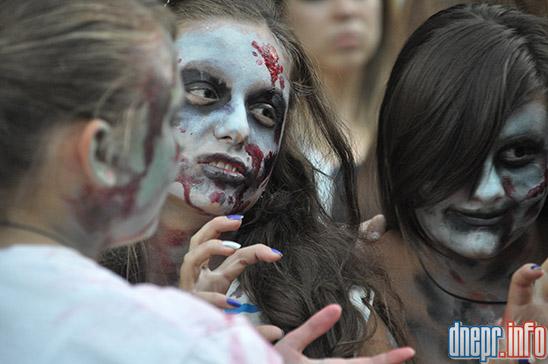 Флешмоб в Днепропетровске: как прошел зомби-парад (ФОТОРЕПОРТАЖ), фото-14