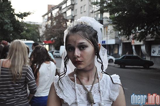 Флешмоб в Днепропетровске: как прошел зомби-парад (ФОТОРЕПОРТАЖ), фото-15