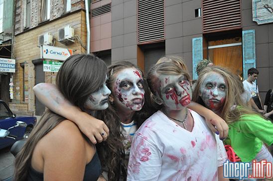 Флешмоб в Днепропетровске: как прошел зомби-парад (ФОТОРЕПОРТАЖ), фото-19