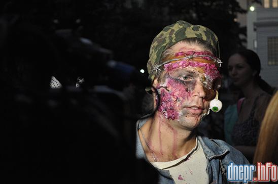 Флешмоб в Днепропетровске: как прошел зомби-парад (ФОТОРЕПОРТАЖ), фото-21