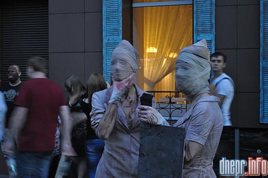 Флешмоб в Днепропетровске: как прошел зомби-парад (ФОТОРЕПОРТАЖ), фото-22