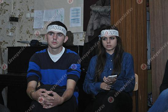 Студенты и руководство Днепропетровского театрально-художественного колледжа нашли компромисс (ВИДЕО, ФОТО), фото-9