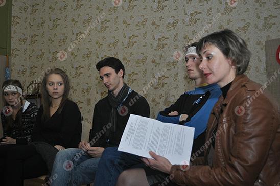 Студенты и руководство Днепропетровского театрально-художественного колледжа нашли компромисс (ВИДЕО, ФОТО), фото-16