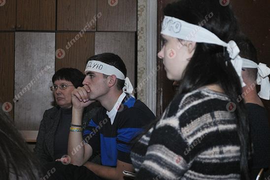 Студенты и руководство Днепропетровского театрально-художественного колледжа нашли компромисс (ВИДЕО, ФОТО), фото-20