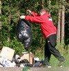 Днепропетровцев научат мусорить