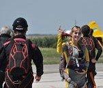 На Днепропетровщине состоялось Первенство Украины по парашютной акробатике (ФОТО, ВИДЕО)