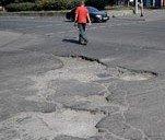 ТОП-10 самых убитых дорог Днепропетровска (ФОТО)
