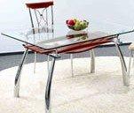 Стеклянные столы в магазине «Донбасс-либерти»