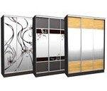 Шкафы-купе в наличии и под заказ в мебельном салоне «Донбасс-либерти»