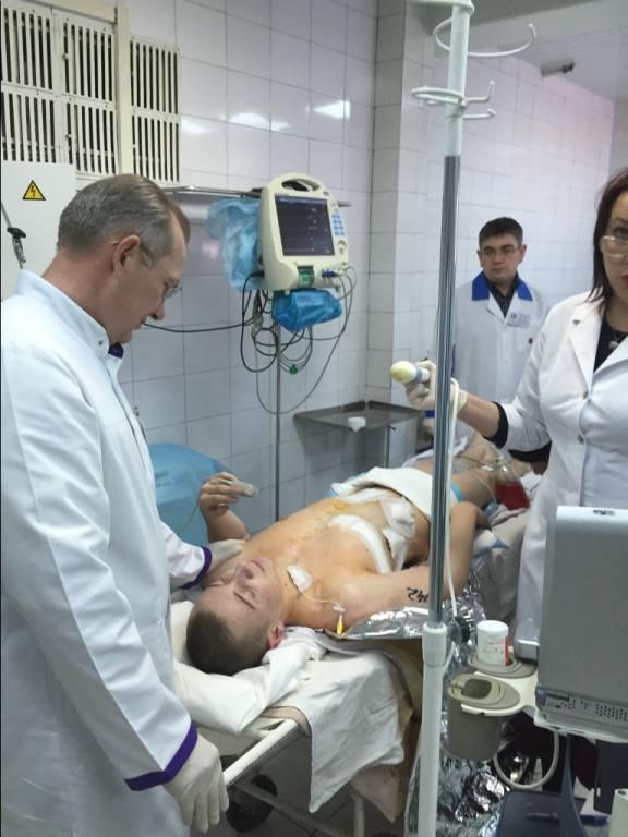 В Днепропетровск доставили еще 11 раненых бойцов