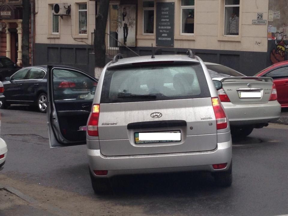 В Днепропетровске на ул. Ленина ДТП – движение затруднено