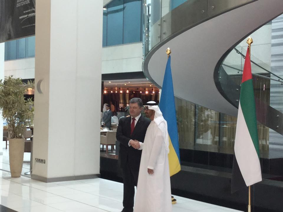Арабские Эмираты помогут Украине техникой и оружием