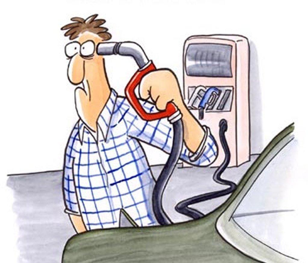 прикольняа картинка цены на бензин и ДТ