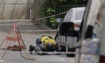 Вчера возле известного ресторана Днепропетровска нашли пакет со взрывчаткой