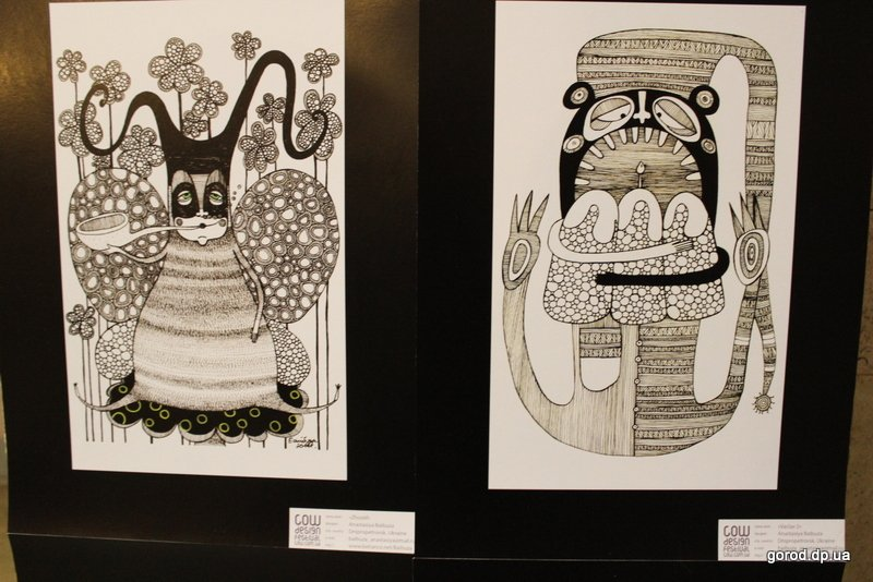 Посетители выставки оценили работы участников Международного фестиваля дизайна из 24 стран мира.