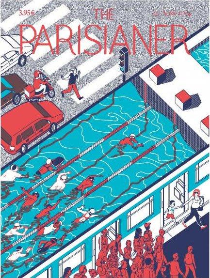 The Parisianer. Обложки воображаемого журнала