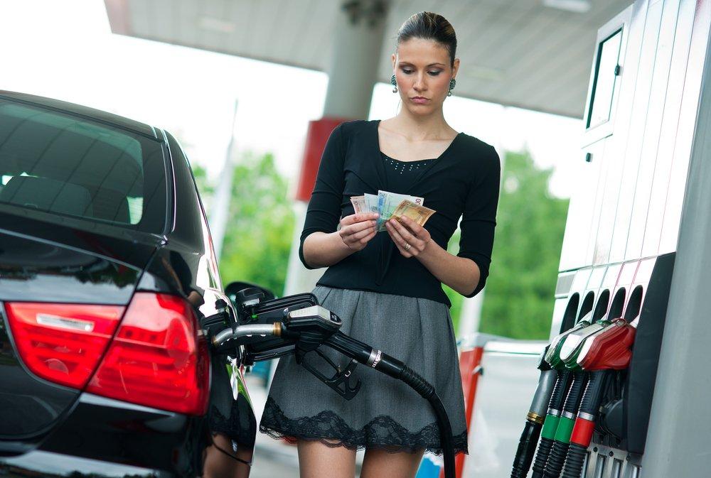 Сводка цен на разные виды топлива по Днепропетровской области. Цены на бензин и дизель сегодня снова снизились в среднем на 1 гривну.
