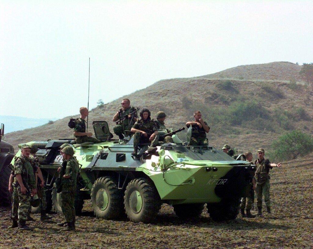 «Укроборонпром» передал Национальной гвардии Украины партию БТР-70 после капремонта.