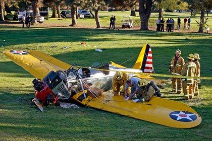 Гаррисон Форд попал в авиакатастрофу