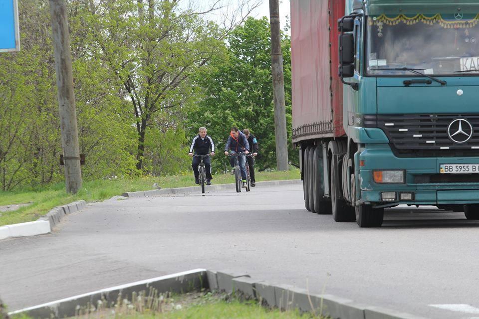 велодорожка днепропетровск
