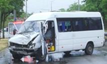 На Днепропетровщине в ДТП с участием автобуса погиб человек, еще семь человек травмированы