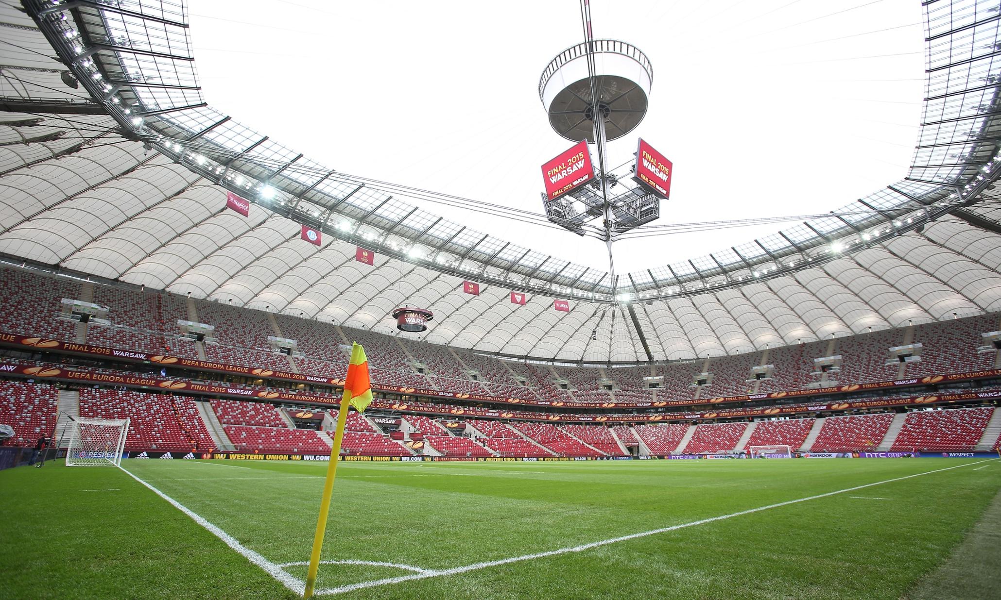 UEFA Europa League 2014/15 Final Dnipro Dnipropetrovsk v Sevilla Narodowy Stadium, Warsaw, Poland - 27 May 2015