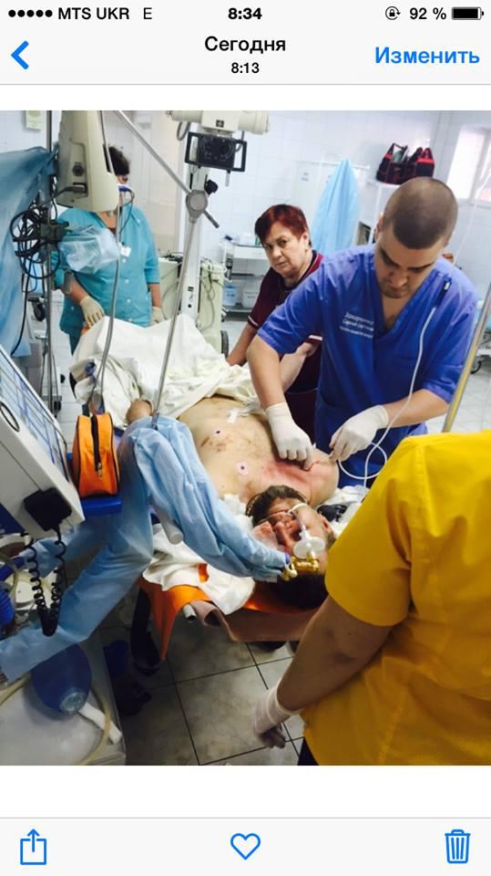 раненые