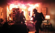 На Днепропетровщине во время пожара спасли мужчину
